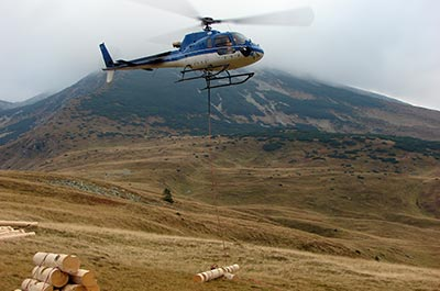 Heli-Logging  -  Helicopter Charters