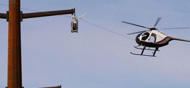 Helicopter Lift Services - Powerline Inspection and Maintainace