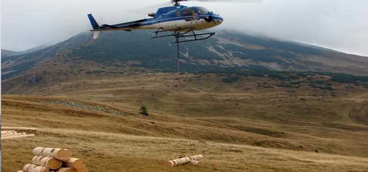 Specialty Helicopter Services - heli-logging