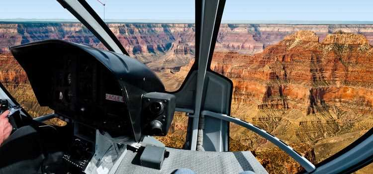 Helicopter Landmark Tour at the Grand Canyon