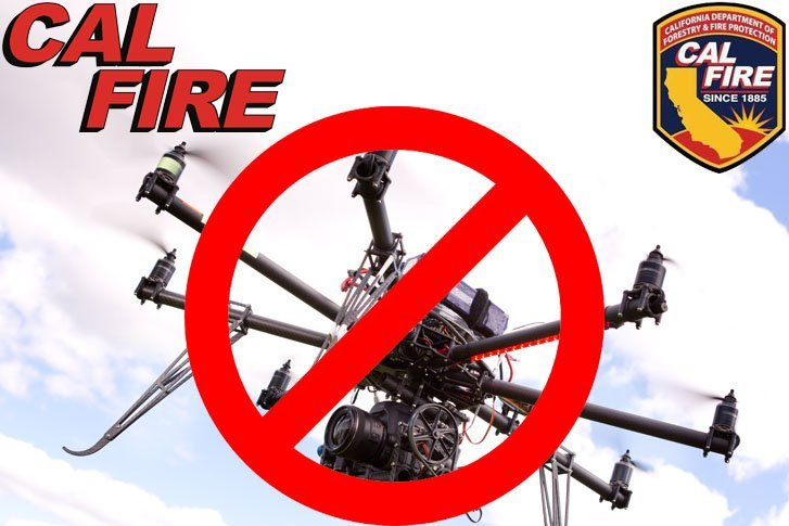 Santee Drone Helicopter Interference Halts Firefighting Efforts