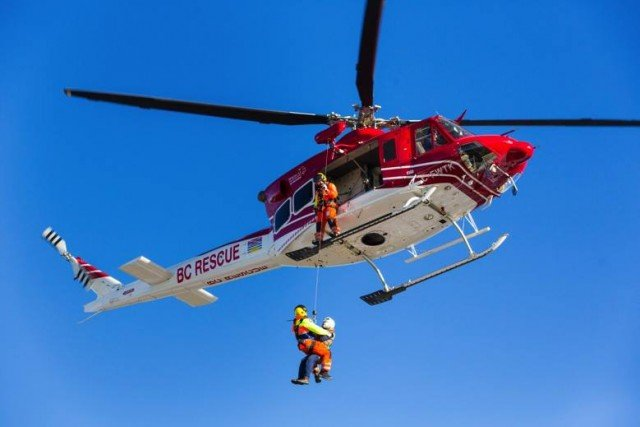 Stillwater County Helicopter Rescue Saves a Hiker in Montana
