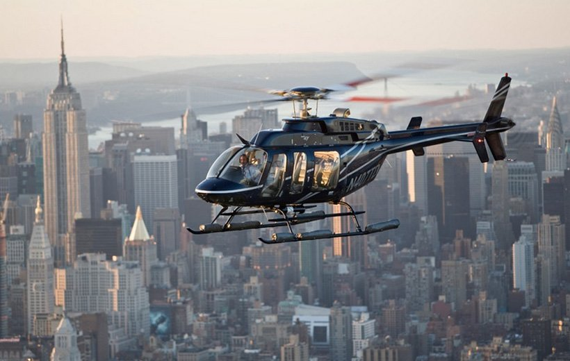 Helicopter Shuttle Service from Manhattan to Newark Airport