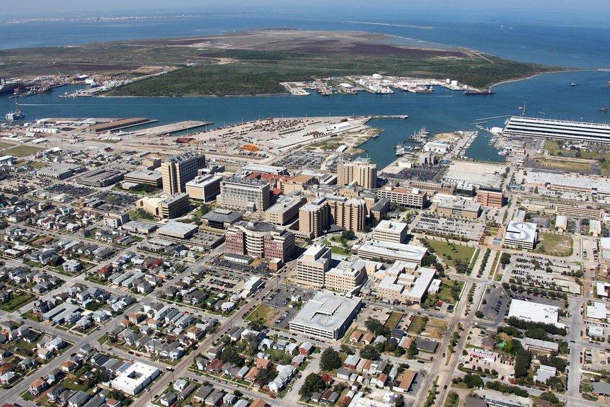 Galveston, Texas Helicopter Tour
