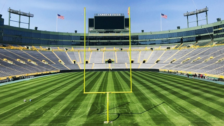 Helicopters Over Lambeau Field Shock Fans and Officials