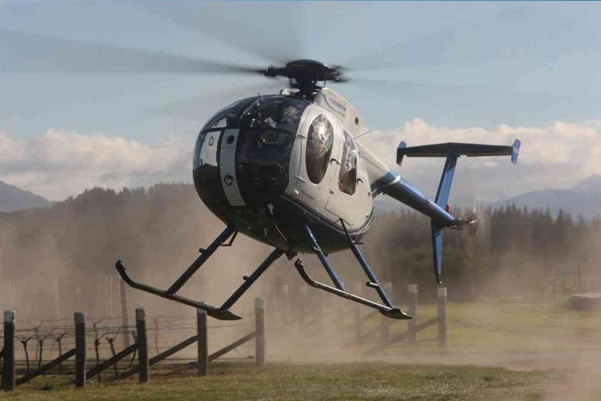 Helicopters Proven Beneficial in Frost Prevention