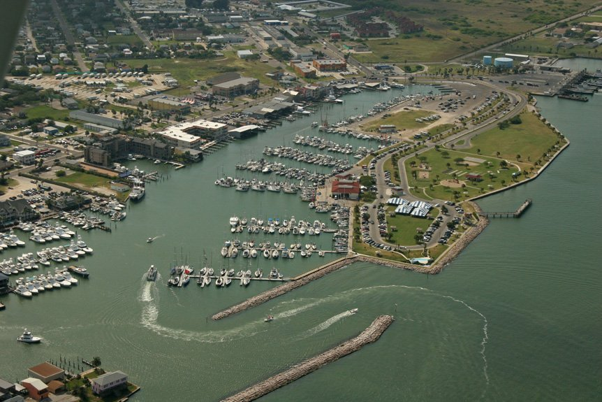 Port Aransas, Texas Helicopter Tour