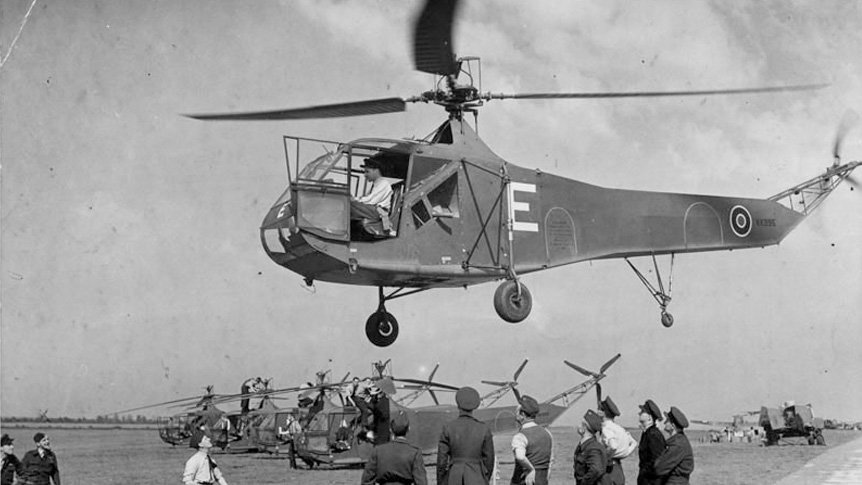 Helicopters Played Pivotal World War II Role