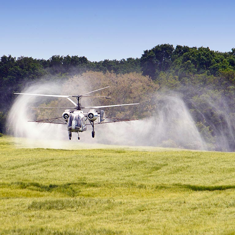 Helicopter Agricultural Spraying